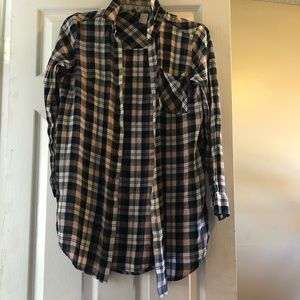 Tops - H&M divided flannel